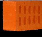 Кирпич рядовой пустотелый КР-р-пу 1НФ пустотность 30% ГОСТ 530-2012