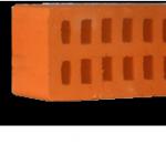 Кирпич рядовой пустотелый КР-р-пу 1,4НФ пустотность 30% ГОСТ 530-2012 (гладкий)